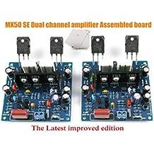 Nobsound 2 piezas/1Set MX50 se Potencia de Amplificador KIT Dual Channel 100W + 100W
