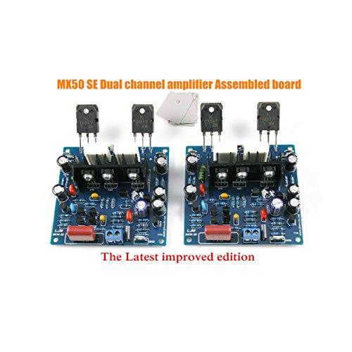 Nobsound 2 piezas/1Set MX50 se Potencia de Amplificador KIT Dual Channel 100W + 100W para audiófilos Hifi amplificador-KIT de bricolaje