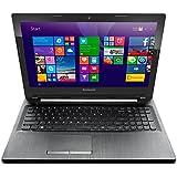 """Lenovo G50-80 Ordinateur portable 15"""" Noir (Intel Core i5, 4 Go de RAM, Disque dur 1 To, AMD Radeon R5, Windows 10)"""