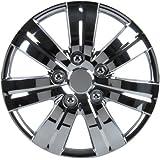 """Unitec 75161 Premium- Enjoliveur (4 pièces) Satz Monaco, chrome 33 cm (13"""")"""