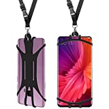 Hands Cell Phone Lanyard Case,Universal Suitable For Most Of Smartphone With Adjustable Neck Strap Holder For Sport No Pocket Children Elder IPhone X 8 7 6 Plus IPod Samsung Galaxy S9 S8 S7