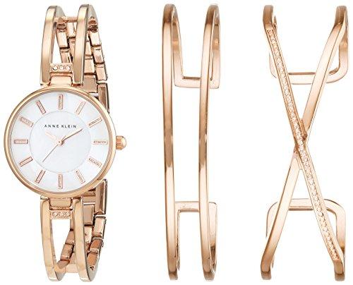 anne-klein-ak-n2236rgst-reloj-de-cuarzo-con-dial-de-madreperla-y-pulsera-de-aleacion-color-oro-rosa