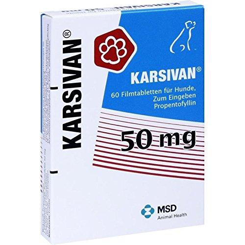 Intervet Deutschland GmbH Karsivan 50 veterinär Fil 60 STK