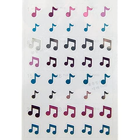 FunMusicOnline Musica tema note di musica adesivi