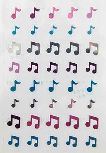 FunMusicOnline temática musical notas música pegatinas