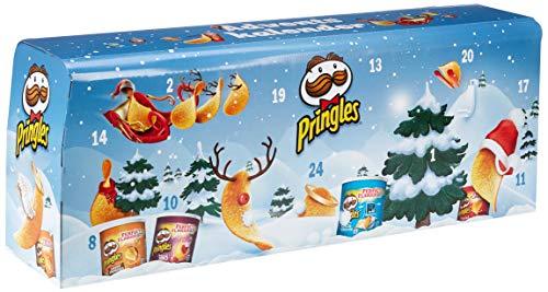 Pringles Chips-Adventskalender Modell Hellblau