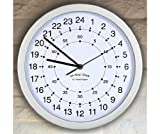 GreatGadgets 1858 24-Hour Clock by GreatGadgets