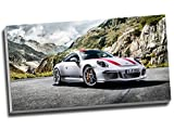 Porsche 911R Sport Auto Wall Art Print auf Leinwand Bild Leinwand Prints 76,2x 40,6cm (76.2cm x 40,6cm)