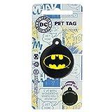 Lizensiertes DC Comics Marvel Comic Hero Haustier Hund Katze ID-Tags 25mm. Batman.