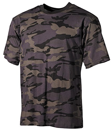 US T-Shirt, halbarm 170 g/m² Combat Camo