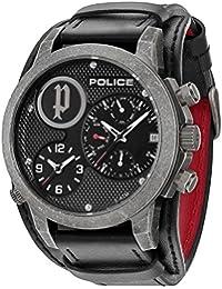 Police P14188JSQS-02 - Reloj , correa de plástico color negro