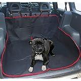 Housse de protection universelle 2 en 1 très résistante et imperméable pour coffre et sièges arrière pour chien/chat