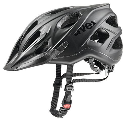 Uvex Stivo CC Casco de Ciclismo, Unisex adulto, Negro (Mate), 56-61 cm