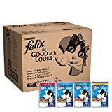 Felix As Good As It Looks Mixed Jelly Pouches, 120 x 100 g