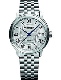 Raymond Weil Reloj de hombre automático 39mm correa de acero 2237-ST-00659