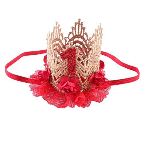 K-youth® Moda Diademas Bebé Niña Princesa Fiesta