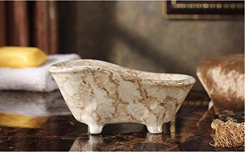 european-marble-pattern-ceramic-soap-box
