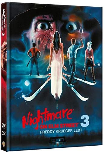 Nightmare on Elm Street 3 - Freddy Krüger lebt - Limitiertes Mediabook auf 1000 Stück (+ DVD) [Blu-ray]