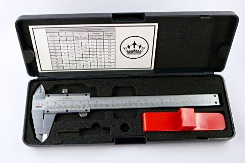 CALIDAD-Nonius Messschieber ( Analog Messschieber ) 0-150 mm - Schieblehre