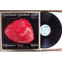 Sonate fuer Violine und Klavier mit dem Teufelstriller und Didone abbandonata und Sonate fuer Violine und Klavier Nr. 1 op. 78. David Oistrach, Frieda Bauer Stereo