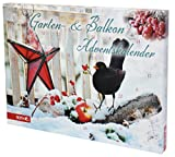 Garten-Adventskalender, 24 Gartenartikel, Größe: 50x35x4 cm