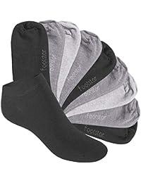Footstar - Kinder SNEAK-IT! KIDS Kinder Sneaker Socken für Mädchen & Jungen - 10 Paar - Viele frohe Farben für Kinder 23 26, 27 30, 31 34