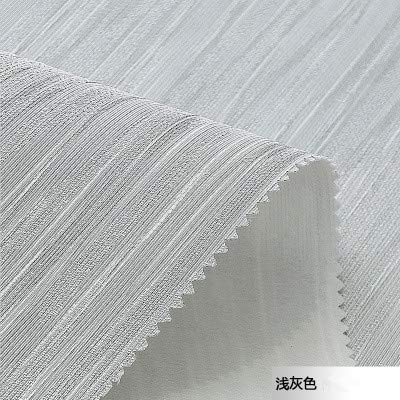 Leinen Nahtlose Wandverkleidung Plain Gestreiften Jacquard Amerikanische Wand Wohnzimmer Schlafzimmer Hotel Wandverkleidung Hellgrau 1 M2 -