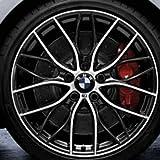 Original BMW Alufelge 2er F22 M Doppelspeiche 405 Glanzgedreht in 19 Zoll für hinten