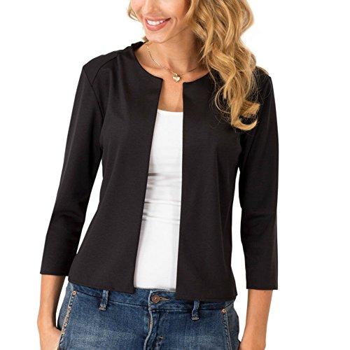 3/4 manica corta giacca sportiva del cappotto del rivestimento delle donne
