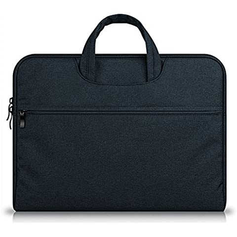 G7Explorer Water-resistant Laptop Sleeve Case Bag Portable Computer handbag For Apple Macbook Air Pro and other Notebook 13.3 inches Navy - Gun Bag Neoprene