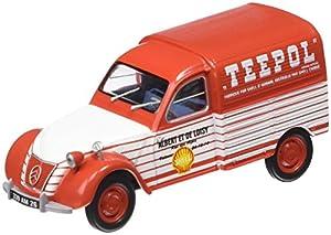 Promocar - G1719033 - Vehículo Ready - Modelo para la Escala - Citroën 2 CV - Teepol - Escala 1/43