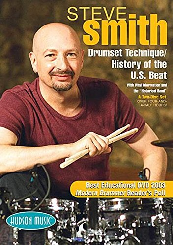 Price comparison product image Steve Smith: Drumset Technique / History of the U.S. Beat