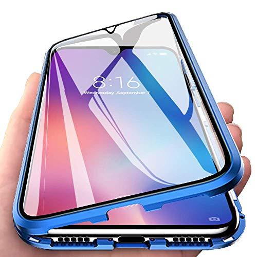 Wishcover Custodia Magnetico per Samsung Galaxy A70,A70 Cover 360 Gradi Full Body Trasparente Vetro...
