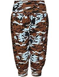 e440b70611d5 Body2Body - Pantalon - Sarouel - Femme Multicolore Camouflage XX-Large