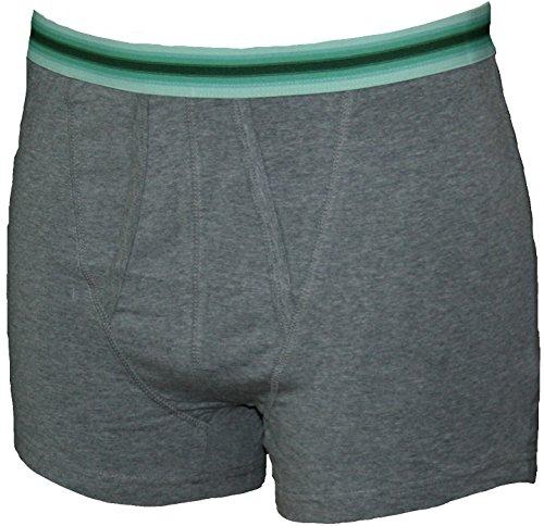 Ex Store Herren Boxershorts 3er Pack grau, schwarz