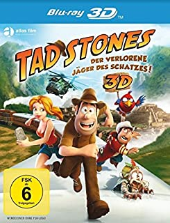 Tad Stones - Der verlorene Jäger des Schatzes! 3D [Blu-ray 3D]