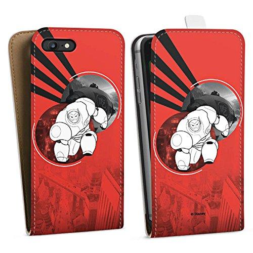 Apple iPhone X Silikon Hülle Case Schutzhülle Disney Baymax Merchandise Downflip Tasche weiß