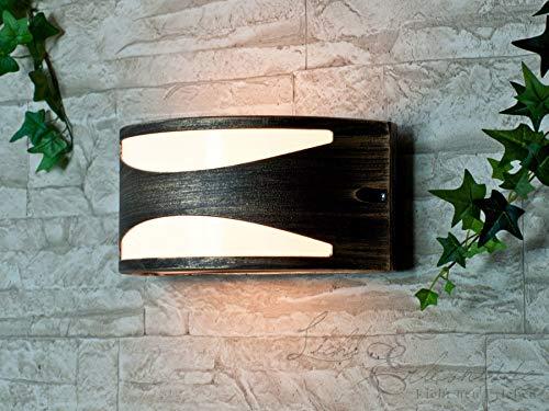 Applique Moderne / Lampe Murale Extérieure Semi-Circulaire / Luminaire De Jardin / IP54 Or Antique 2/1/900