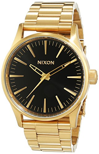 Nixon-Womens-Quartz-Watch-Analogue-Display-and-Stainless-Steel-Strap-A4501604-00