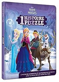 REINE DES NEIGES - Une histoire, un puzzle par Walt Disney