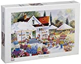 Tomax Flower House 1500 Piece Jigsaw Puzzle by Tomax
