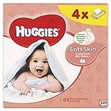 Huggies Soft Skin Baby Pflegetücher Feuchttücher 4 x 56er Pack