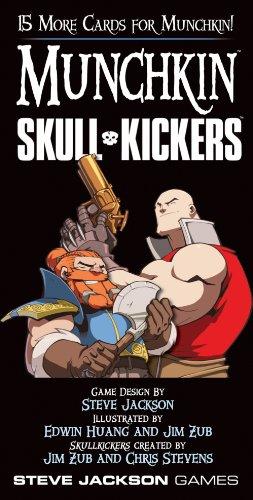 Steve Jackson Games 4232 - Munchkin Skull Kickers (Skull Kickers)