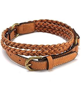 Cinturón De Dama Trenzada/Falda Casual Decorativa/Vogue Puntada Banda De Cintura