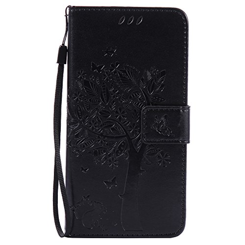Huawei P9 Lite Custodia Portemonnaie Handy Hülle HuaForCity® PU Leder Kratzfest Smartphone Fall Wallets Shell mit Karten Schlitz Halter Magnetverschluss Flip Buch Stil Standfunktion Schützen Sie Abdeckung Handyhülle Bumper Schutzhülle Etui Gehäuse Stoßstange Tasche PU Leather Back Case Wallets Shell with Cards Slot Holders Magnetic Closing Flip Book Style Stand Function Protect Cover Holster Skin for Huawei P9 Lite