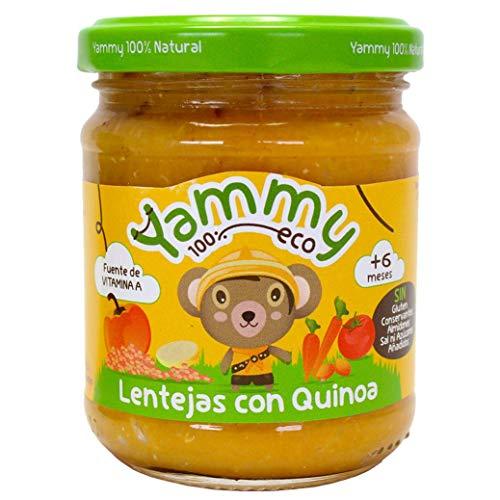 Yammy Potito Ecológico De Lentejas Con Quinoa A Partir