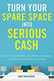 Turn Your Spare Space into Serious Cash: How to Make Money on Airbnb, HomeAway, FlipKey, Booking.com, and More! (English Edition)