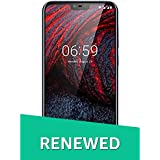 (Renewed) Nokia 6.1 Plus TA-1083 DS (Blue, 64GB)