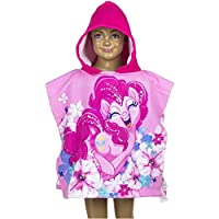 CARTOON WORLD Bathrobe poncho beach towel-My Little Pony A