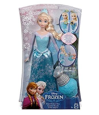 Disney El reino del hielo Chicas Muñeca Royal Color Elsa - Azul